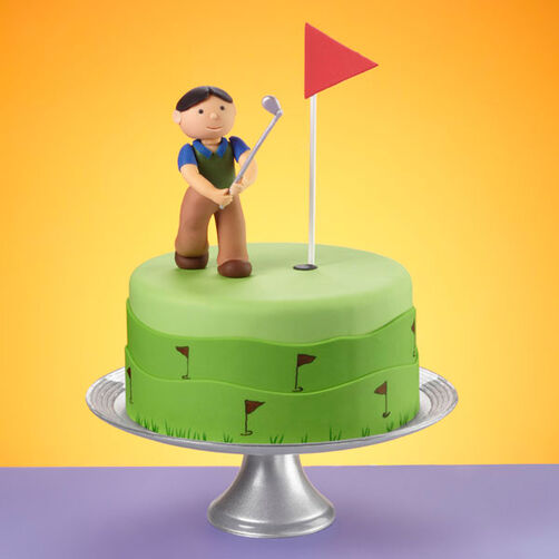 Fore Golf Cake