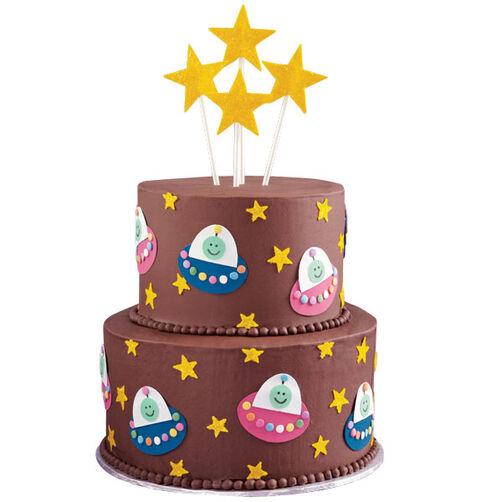 Galactic Traffic Jam Cake