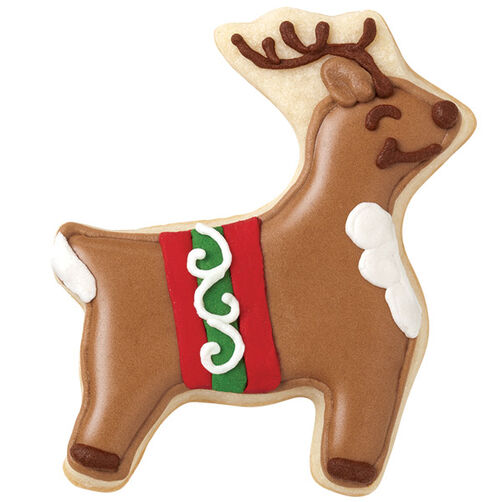 Ready for Christmas Reindeer Cookies