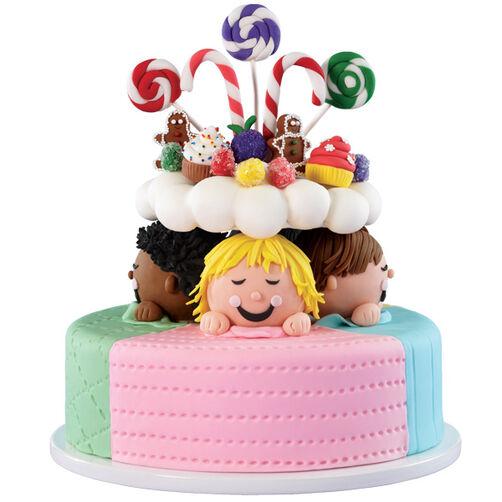 Christmas Cake Ideas Wilton : Sweet Dreamers Christmas Cake Wilton