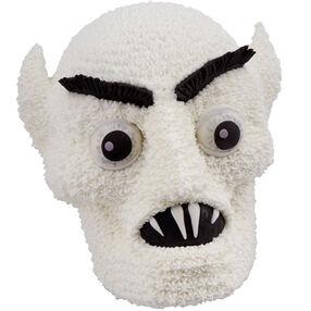 Nosferatu Vampire Head Cake