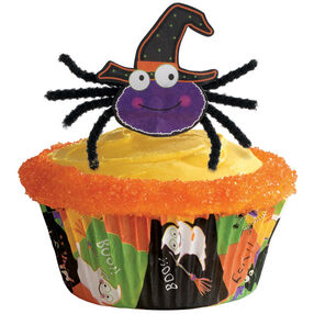 Spider Pick Cupcake