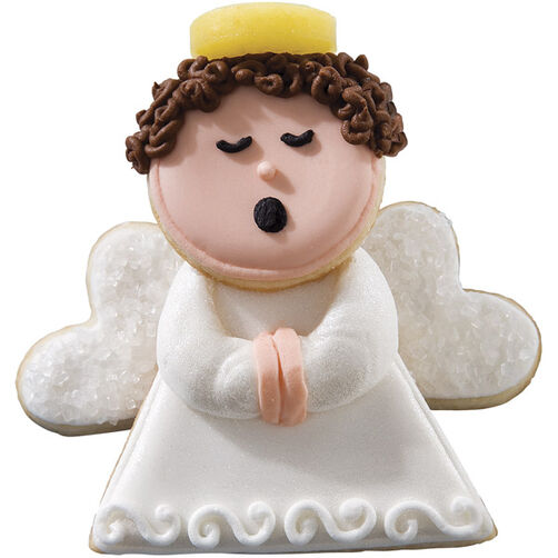 Celestial Caroler Christmas Cookies