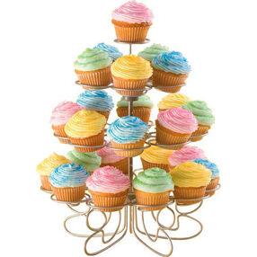 Pretty Pastel Mini Cupcakes