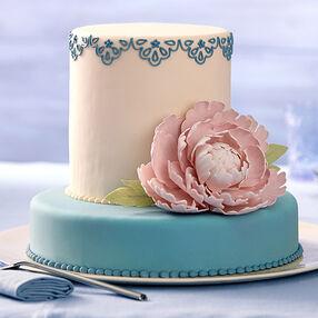Exotic Peony Cake
