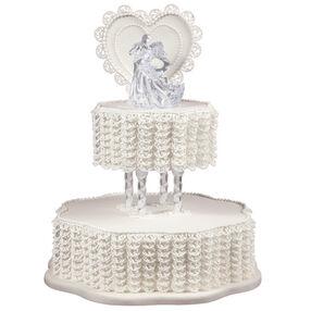 Lace Embrace Cake
