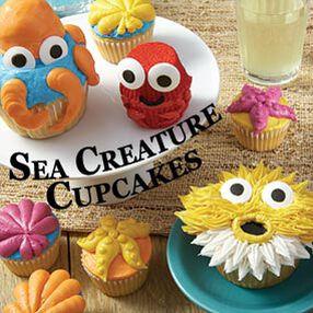 Sea Creatures Cupcakes Class