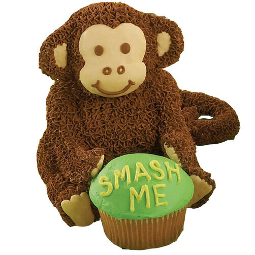 Baby Chimp's Ready to Chomp! Mini Cake