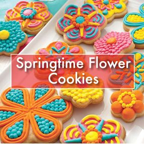 THE WILTON METHOD | SPRINGTIME BLOSSOMS COOKIES