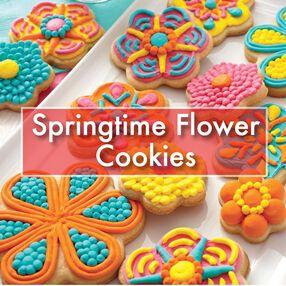 Springtime Blossoms Cookies