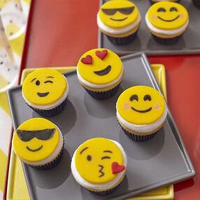 Emoji Mini Cupcakes