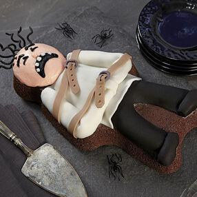 Halloween Mad Man Brownie