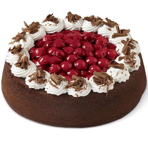 Elegant Chocolate Cherry Cake Wilton
