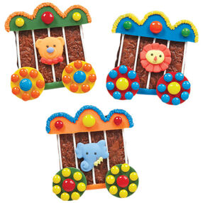 Circus Train Cars Brownies