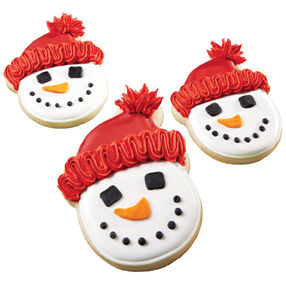 Warm Smiles Snowman Cookies