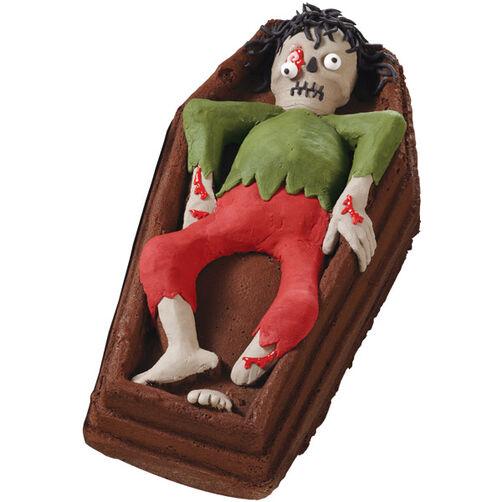 Too Ghoul Casket 3-D Cake