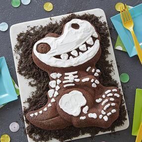 Dinosaur Bones Cake