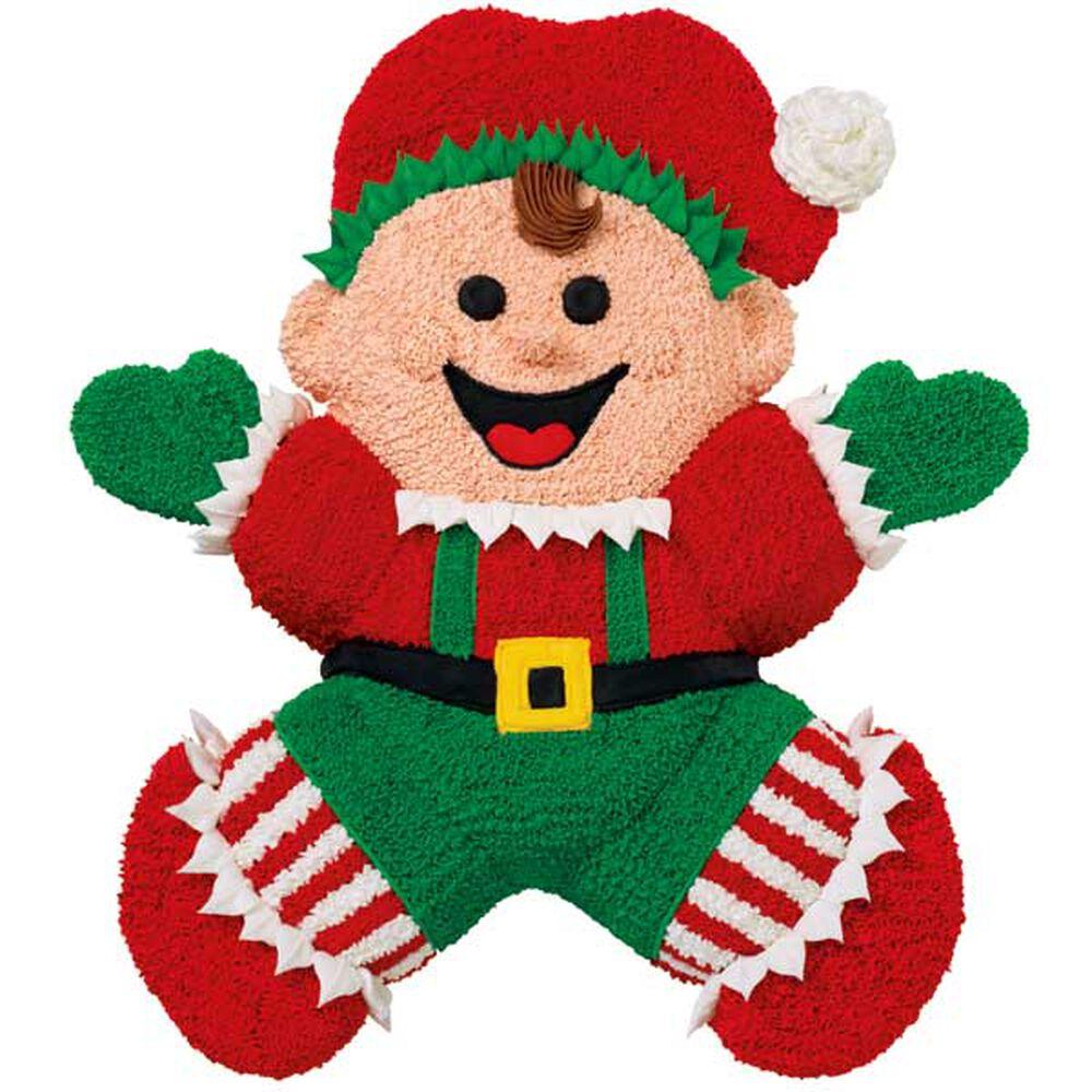 Happy To Help Santa Cake Wilton