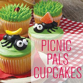 Picnic Pals Cupcakes