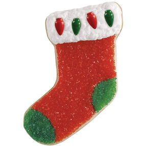 Sparkling Stocking Cookie