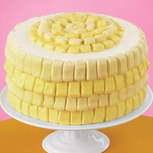 Looped Basketweave Cake