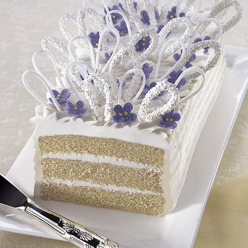 Violets Arise Cake