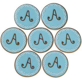 Milestone Monogram Cookies