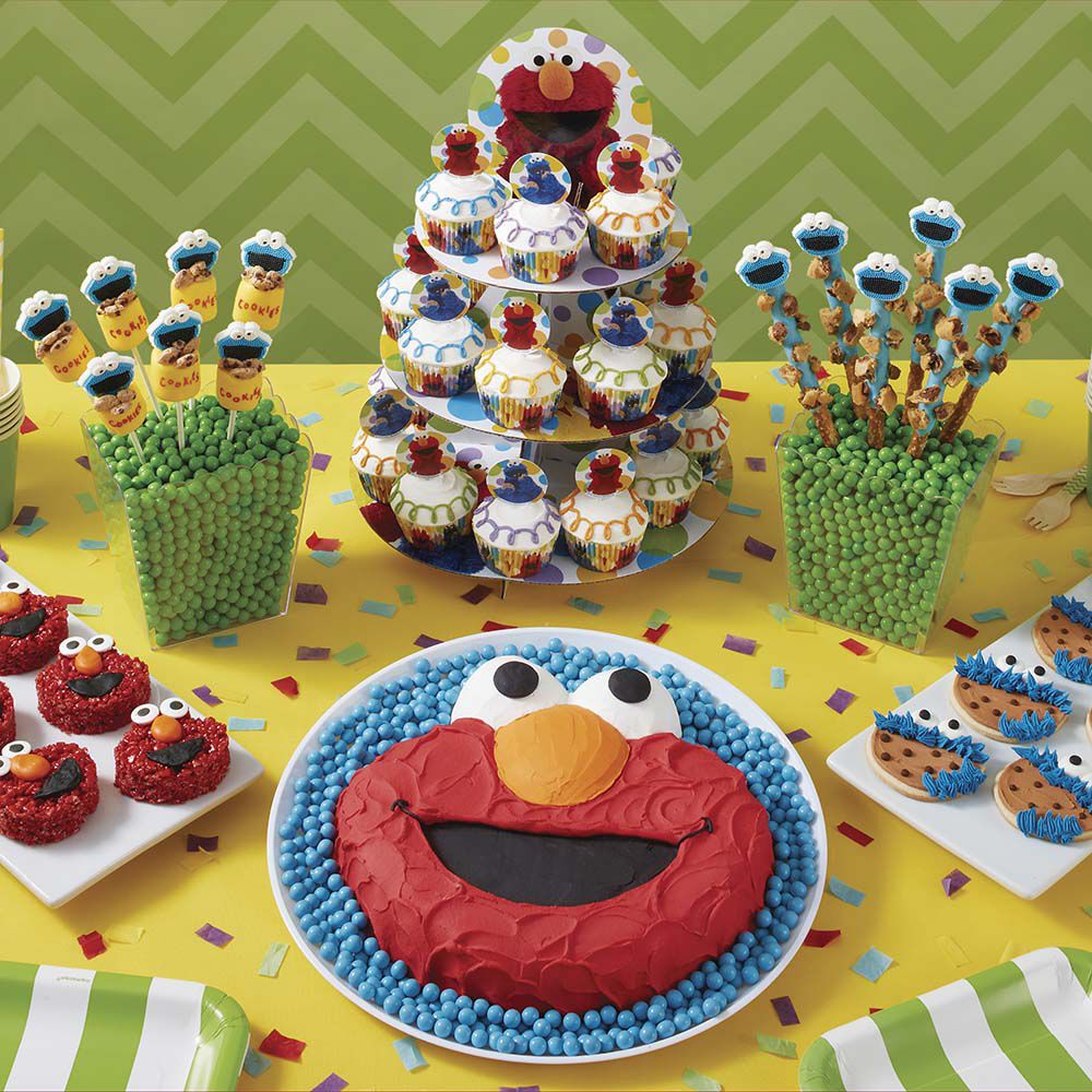 Elmo Cake Decorating Instructions : Sunny Day Elmo Cake Wilton