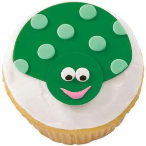 Green with Envy Ladybug Cupcake