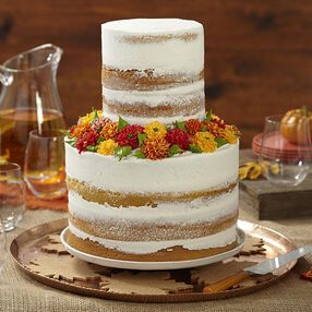 Mums the Word Naked Cake