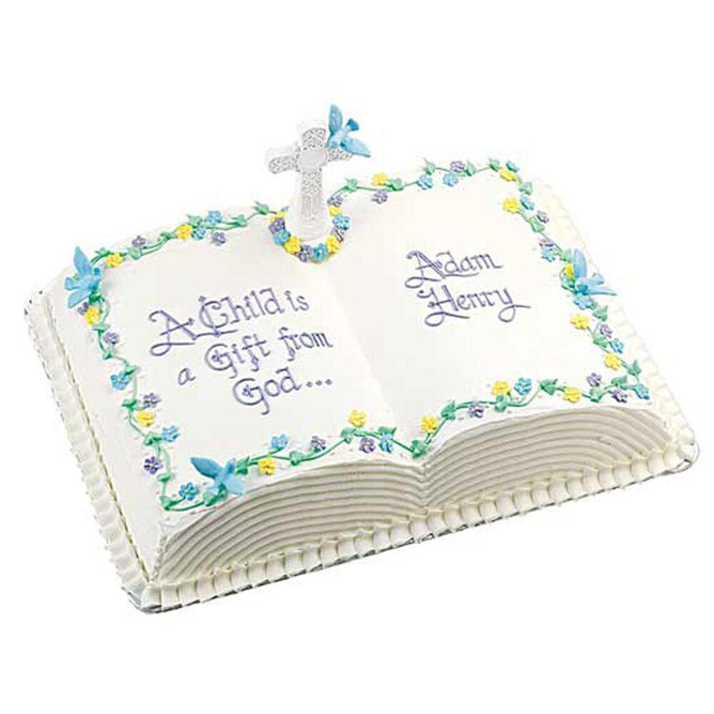 Book Cake Pan Decorating Ideas