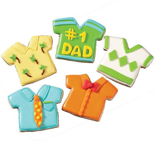 Tee-riffic Dad Cookies