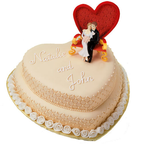 Sitting Pretty Cake