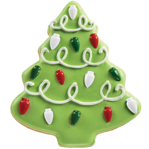 Shining Lights Tree Cookie