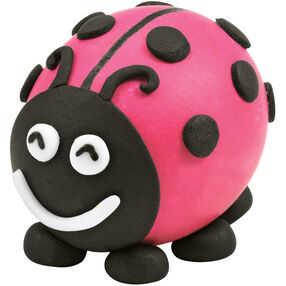 Lady Bug Easter Egg