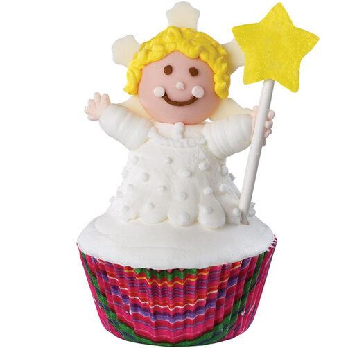 Celestial Cherub Cupcake