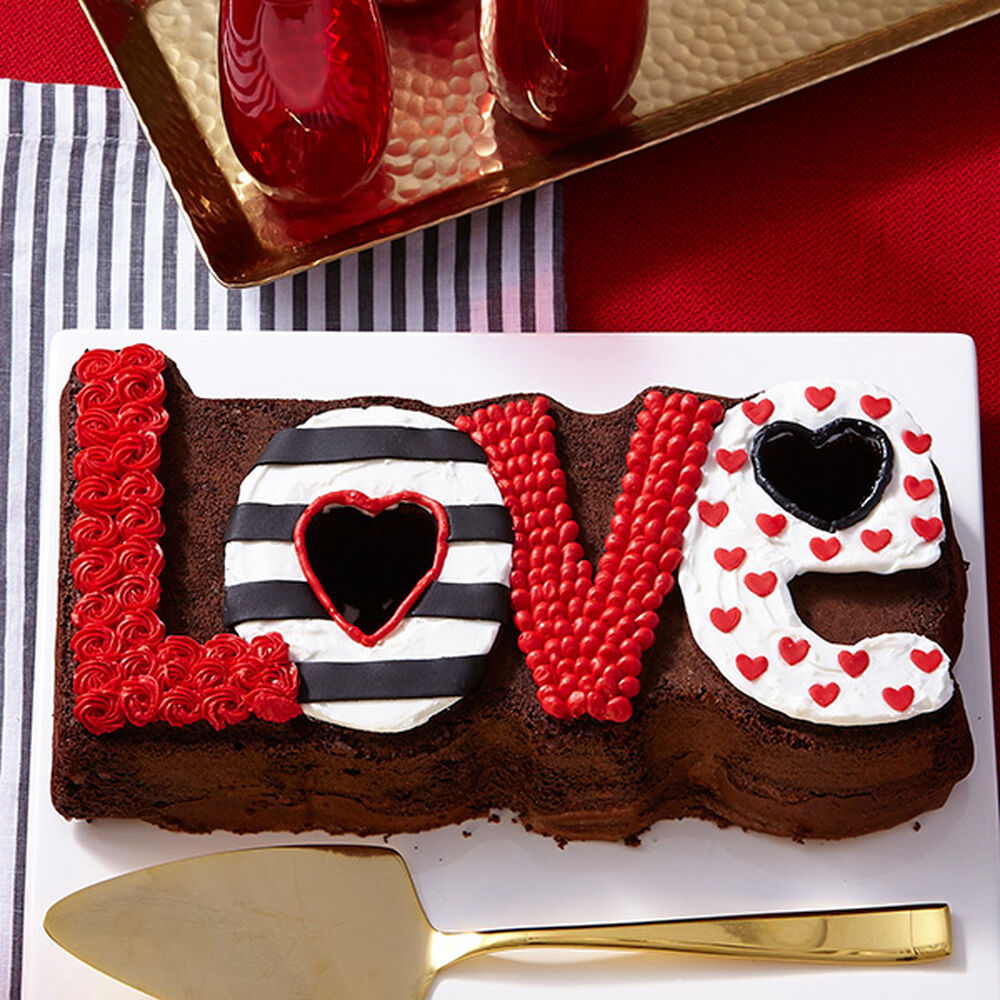 Images Of Cake For Lover : L-O-V-E Cake Wilton