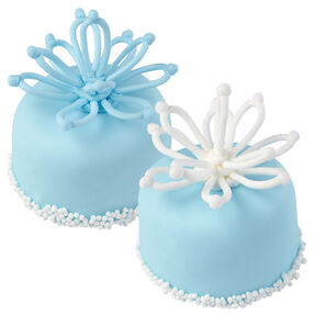 Winter Blossom Mini Cakes