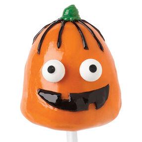 Wacky Jack-O-Lantern Brownie Pops