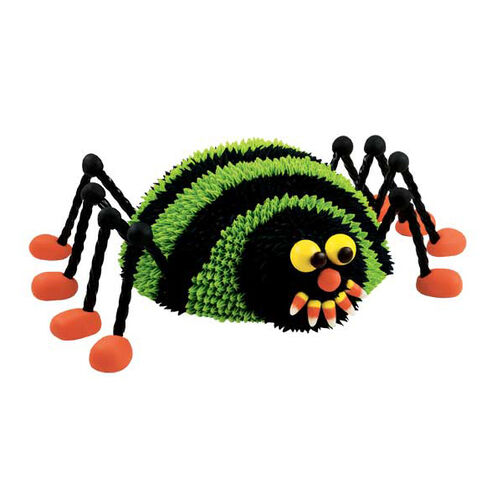 Covering Lots of Ground Spider Cake