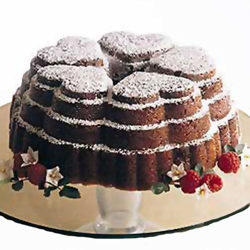 Raspberry Swirl Butter Cake