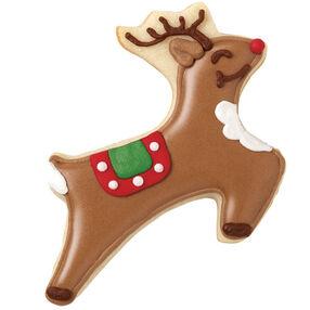 Leaping Reindeer Cookies