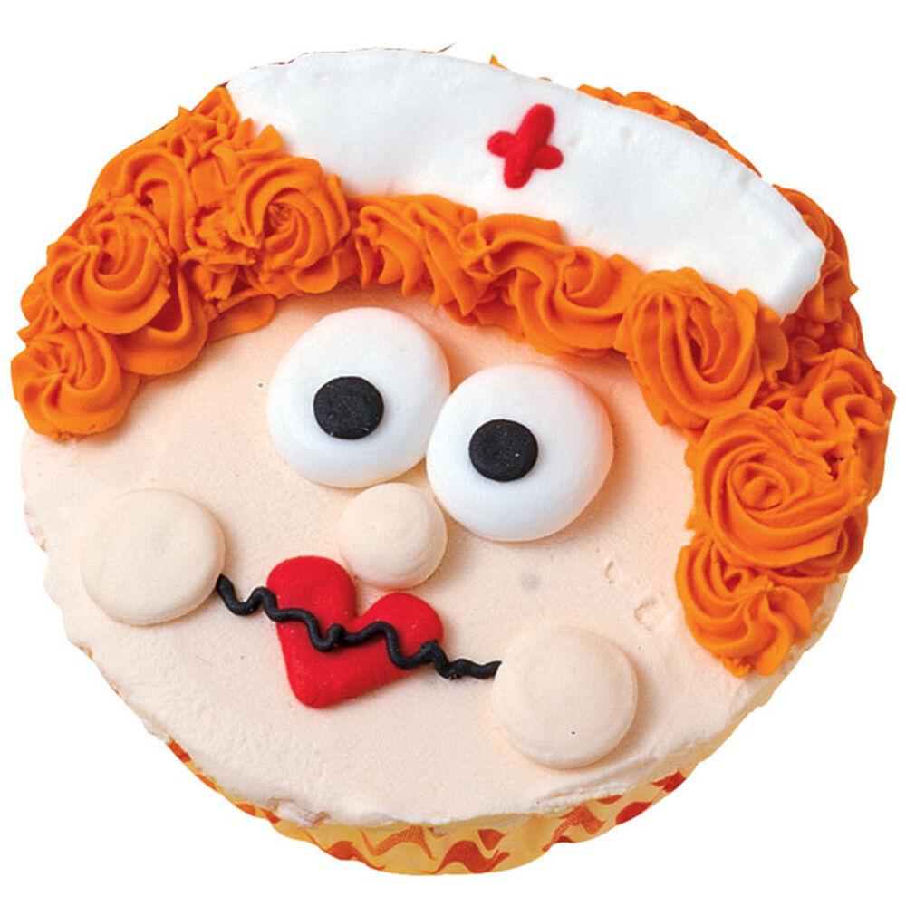 Your Favorite Nurse Cupcake Wilton
