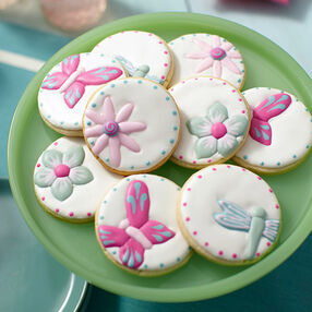 Flowers & Flyers Spring Garden Cookies