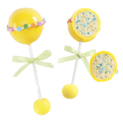 Baby Rattles Cake Pops
