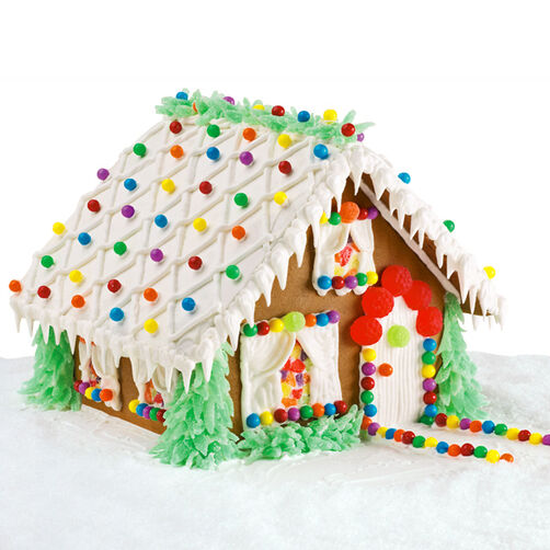 Festive Fir Palace Gingerbread House