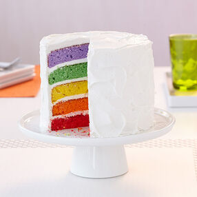 Rainbow Reveal Easy Layers! Cake