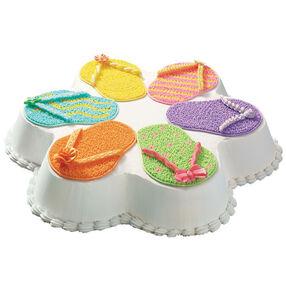 Circle of Sandals Cake