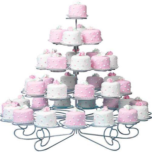 Pastel Petit Fours Mini Cakes Wilton