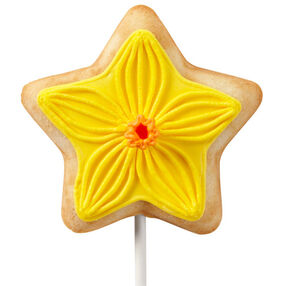 Easter Daffodil Delights Cookie Pops